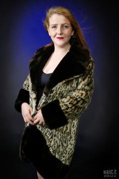 2016-12-11 Char portrait, wearing fur coat