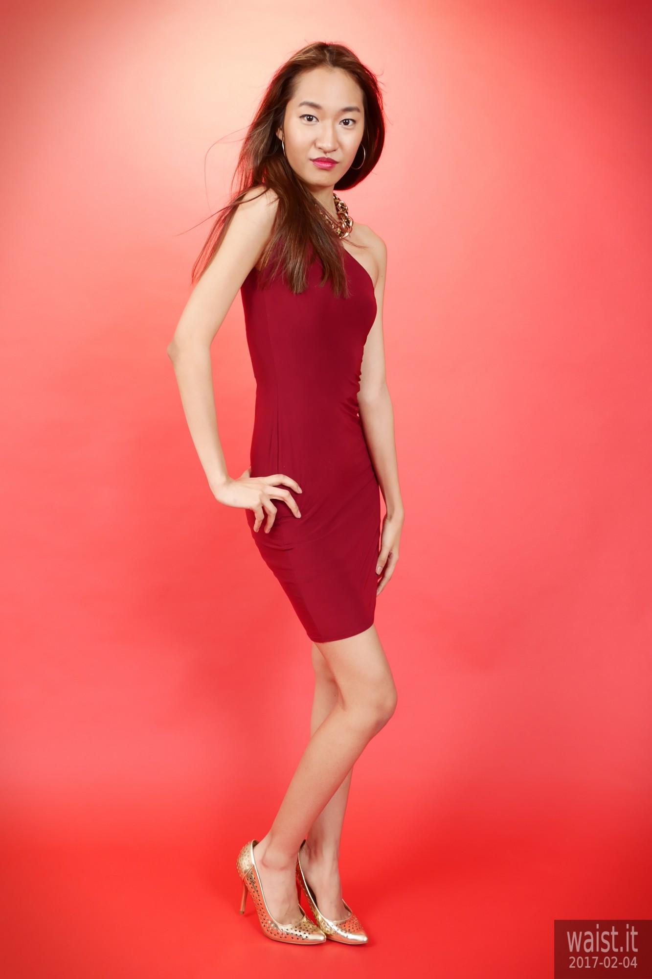 2017-02-04 Salina Pun little red dress