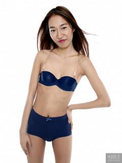 2017-02-04 Salina Pun blue Chinese bra and girdle