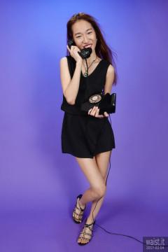 2017-02-04 Salina Pun black playsuit