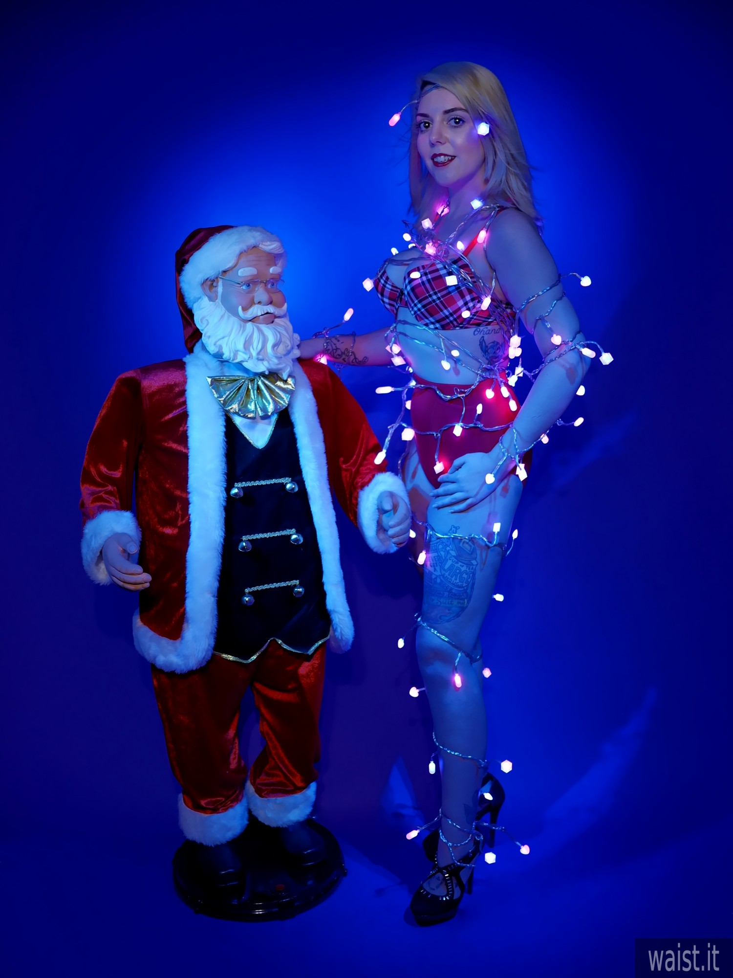 2017-02-12 Pixiee-Lou pinup/Christmas shoot