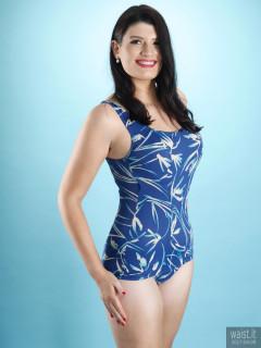2017-04-09 Imogen blue BHS tummy control swimsuit