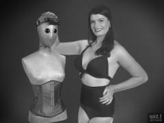 2017-04-09 Imogen black two piece swimsuit