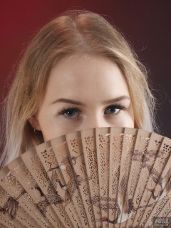 2017-05-19 Laura Sele cheongsam dress and lots of smoke