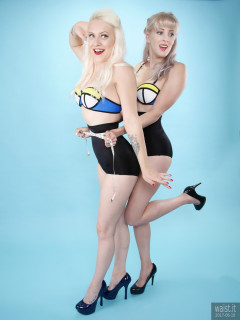 2017-06-10 Dayna Nirvana and Emma Lou pinup shoot