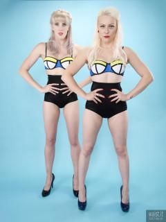 2017-06-10 Dayna Nirvana and Emma Lou pinup shoot