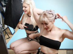 2017-06-10 Making-up - Dayna Nirvana and Emma Lou pinup shoot