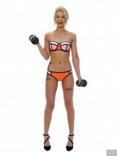 2017-08-15 Jade-Lauren bikini workout