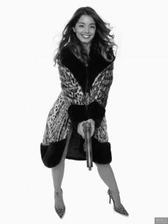 2017-09-03 Kris in fur coat