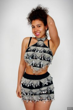 2017-11-26 Stephy Samer fashion shoot - in vintage dance costume