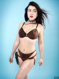2018-06-15 Tatjana Bastet in Honey Ryder set