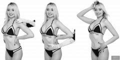2019-01-12 Domii fitness/posture demonstration - shoulders back, tummy in and smile