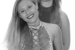 2019-05-04 Fabiene and CloEliza monochrome