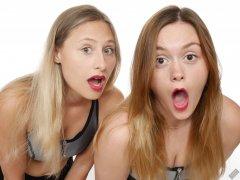 2019-05-04 Fabiene and CloEliza shocked!