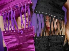 2019-05-04 CloEliza and Fabiene corset shock