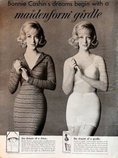 Original Bonnie Cashin Maidenform gordle ad