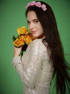 Portrait of a Flower Princess