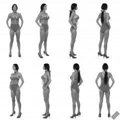 2020-03-08 LisaAnne fitness collage 360° rotation