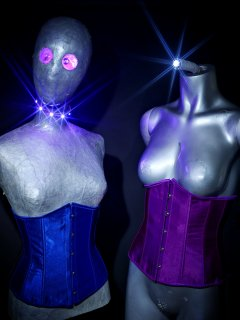 "LED lighting demo. 20161105-Manequins - better known as ""The Aliens"""