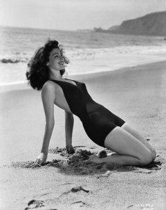 influences: Ava Gardner in swimsuit