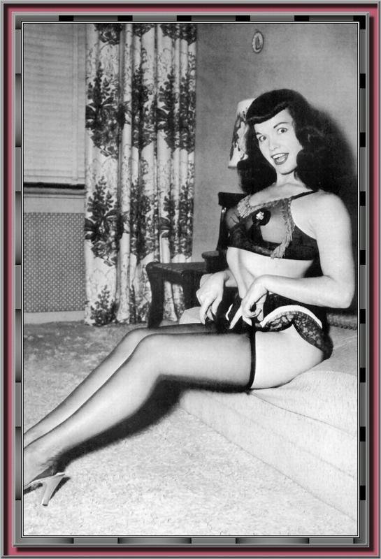 Bettie Page Camera Club 301