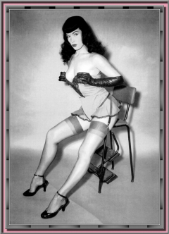 Bettie Page Camera Club 253