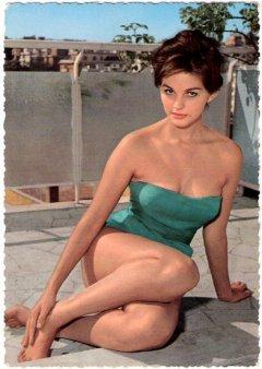 influences: Claudia Cardinale, swimsuit