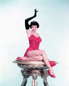 influences: Cyd Charisse in The Band Wagon