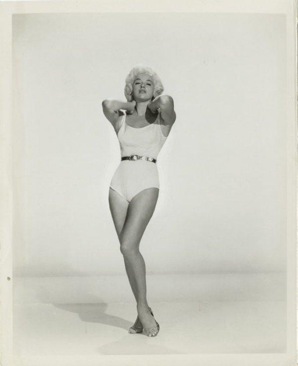 influences: Diana Dors, swimsuit