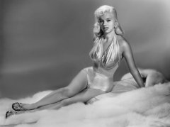 influences: Diana Dors, swimsuit