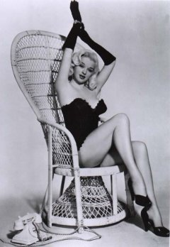 influences: Diana Dors, corset