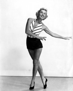 influences: Doris Day, dance outfit