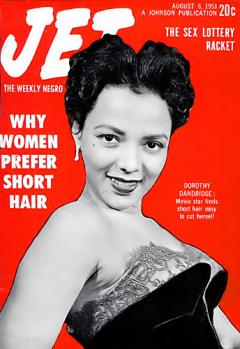 Influences - 1953-08-08 Jet magazine cover - Dorothy Dandridge