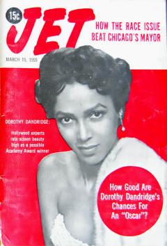 Influences - 1955-05-10 Jet magazine cover - Dorothy Dandridge
