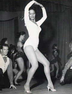 Influences - Dorothy Dandridge dancer in leotard