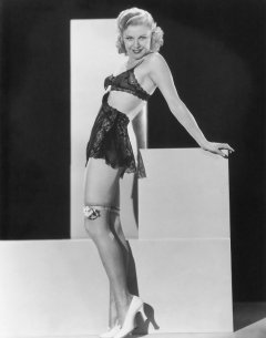 influences: Ginger Rogers, swimsuit