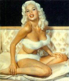 Jayne Mansfield fur bikini