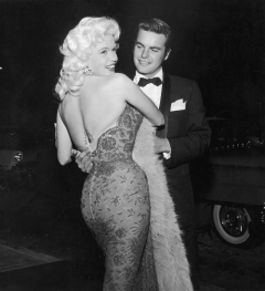 Jayne Mansfield and Robert Wagner