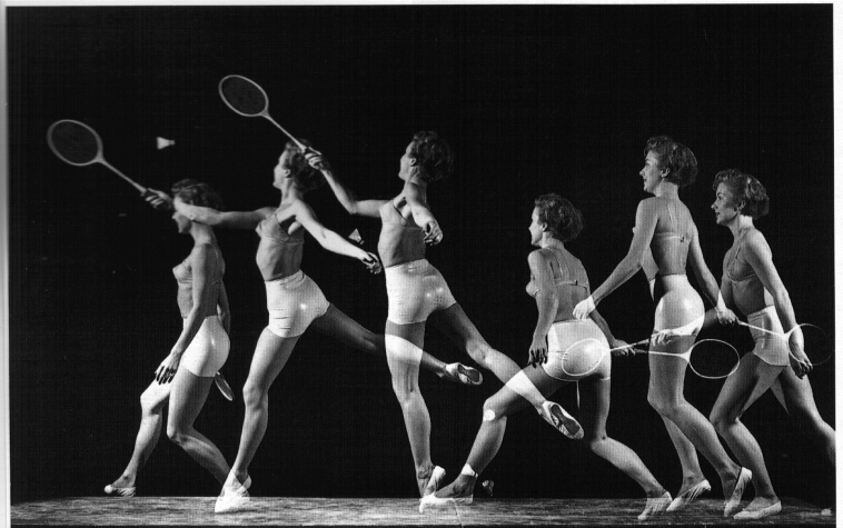 influences: Playtex girdle1950's badminton ad