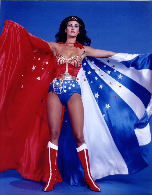 influences: Lynda Carter as Wonder Woman