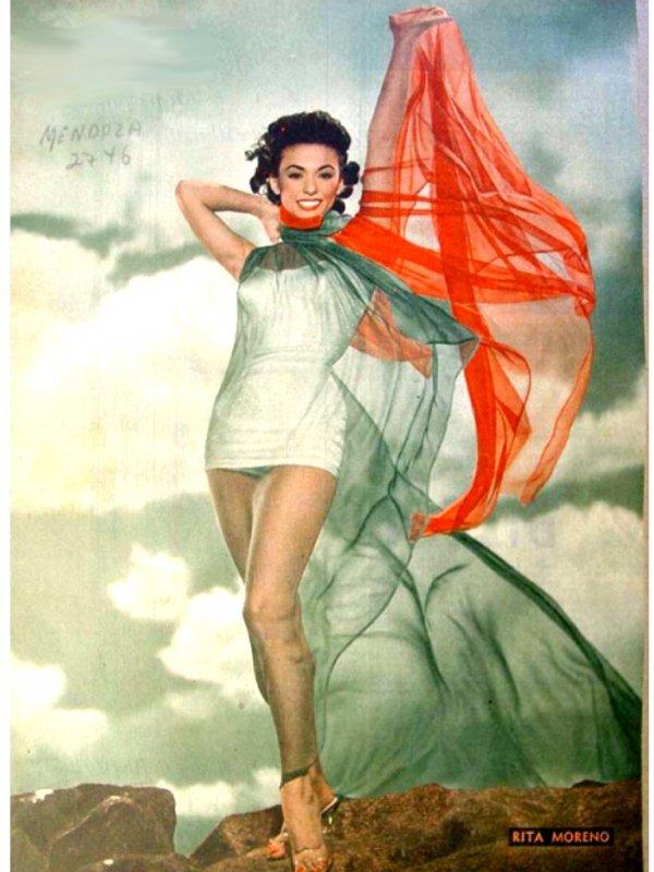 influences: Rita Moreno
