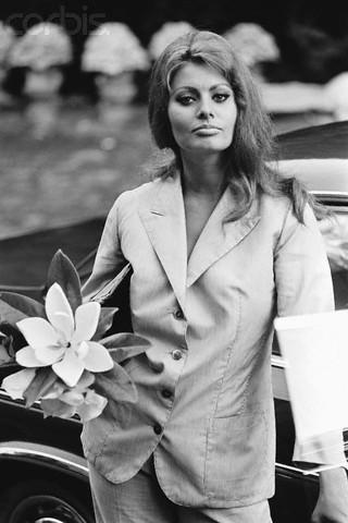 influences: Sophia Loren, 1983-09-09, Paris.