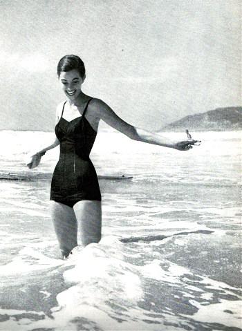Swimwear 1956 By Rose Marie Reid
