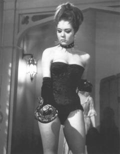 Diana Rigg in corset