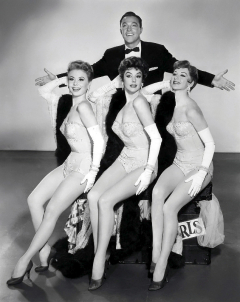 Gene Kelly and Famous Dancing Girls